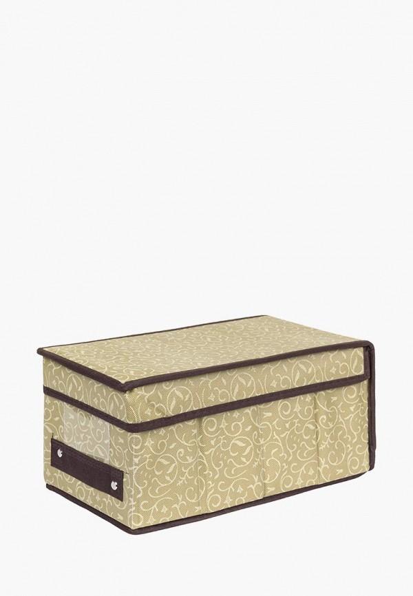 Короб для хранения El Casa El Casa MP002XU0E0ZA корзинки el casa сумочка интерьерная для хранения ирисы и незабудки