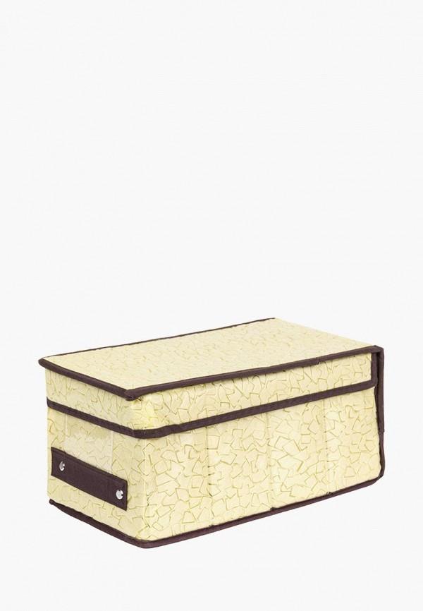 Короб для хранения El Casa El Casa MP002XU0E0ZB корзинки el casa сумочка интерьерная для хранения ирисы и незабудки