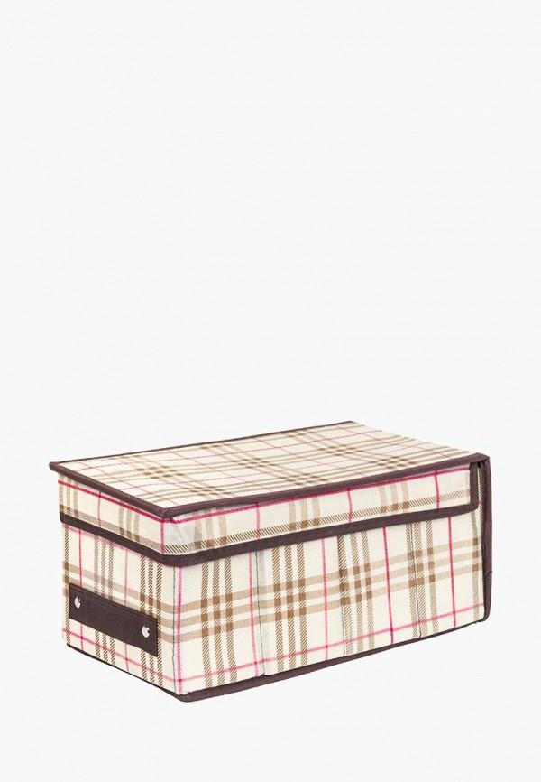 Короб для хранения El Casa El Casa MP002XU0E0ZD ящики для хранения el casa сумочка интерьерная для хранения ирисы и незабудки