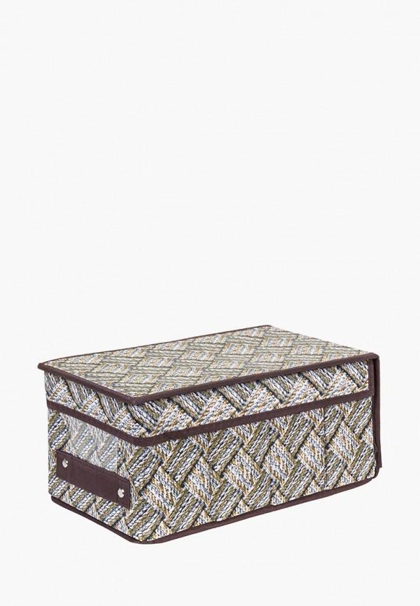 Короб для хранения El Casa El Casa MP002XU0E0ZE корзинки el casa сумочка интерьерная для хранения ирисы и незабудки