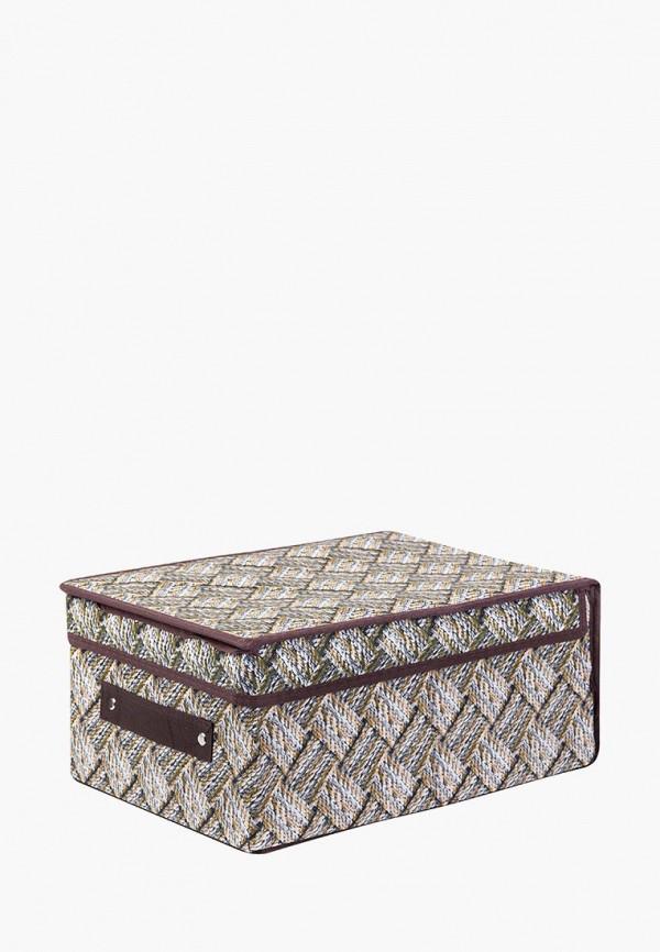Короб для хранения El Casa El Casa MP002XU0E0ZJ корзинки el casa сумочка интерьерная для хранения ирисы и незабудки
