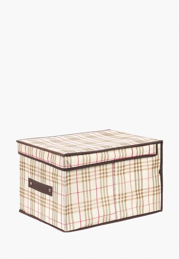 Короб для хранения El Casa El Casa MP002XU0E0ZN ящики для хранения el casa сумочка интерьерная для хранения ирисы и незабудки