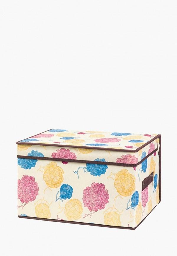 Короб для хранения El Casa El Casa MP002XU0E11J ящики для хранения el casa сумочка интерьерная для хранения ирисы и незабудки