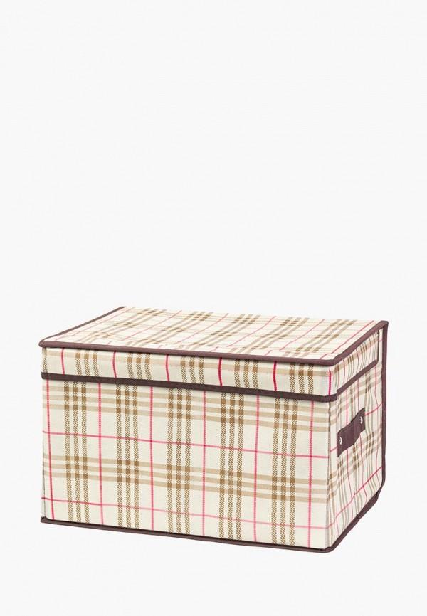 Короб для хранения El Casa El Casa MP002XU0E124 корзинки el casa сумочка интерьерная для хранения ирисы и незабудки