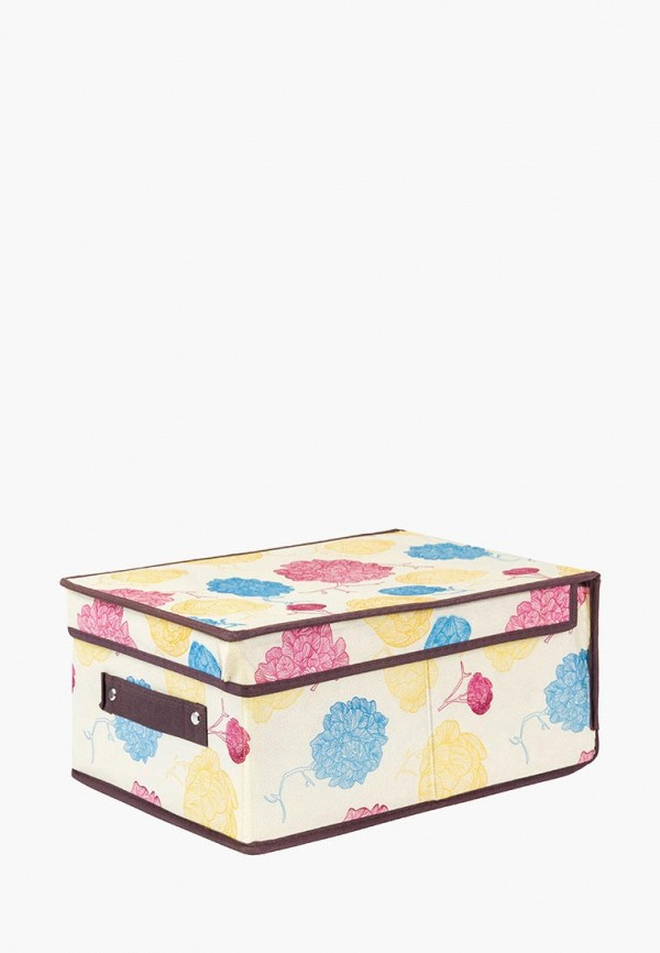 Короб для хранения El Casa El Casa MP002XU0E128 ящики для хранения el casa сумочка интерьерная для хранения ирисы и незабудки
