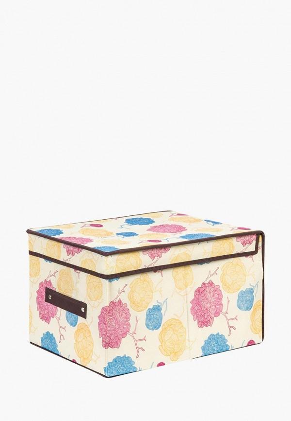 Короб для хранения El Casa El Casa MP002XU0E13G корзинки el casa сумочка интерьерная для хранения ирисы и незабудки