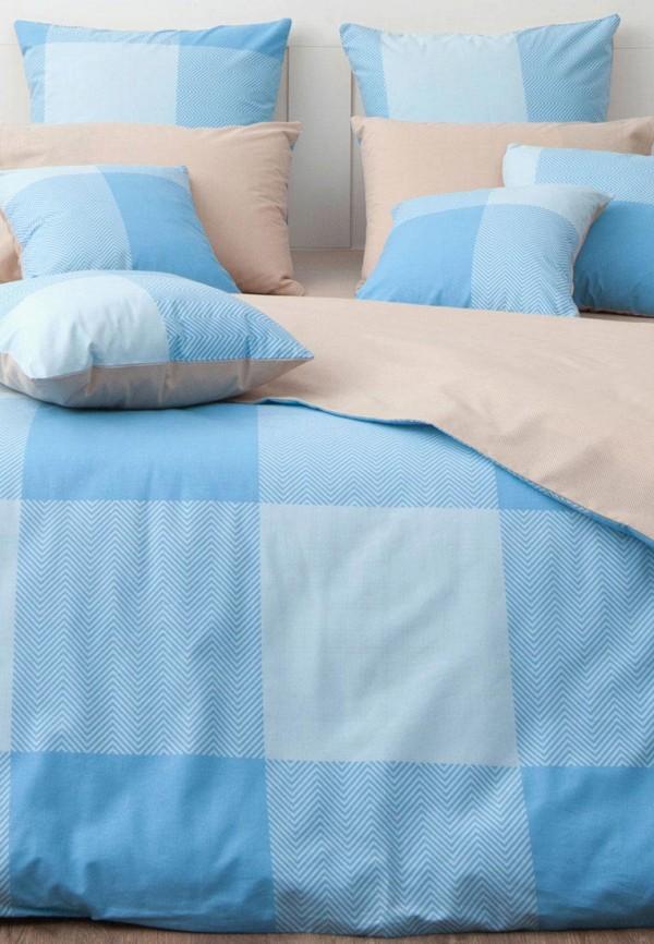 Купить Постельное белье 2-спальное Хлопковый Край, Лондон небесный, mp002xu0e15h, голубой, Весна-лето 2018