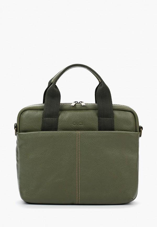 женская сумка olci, зеленая