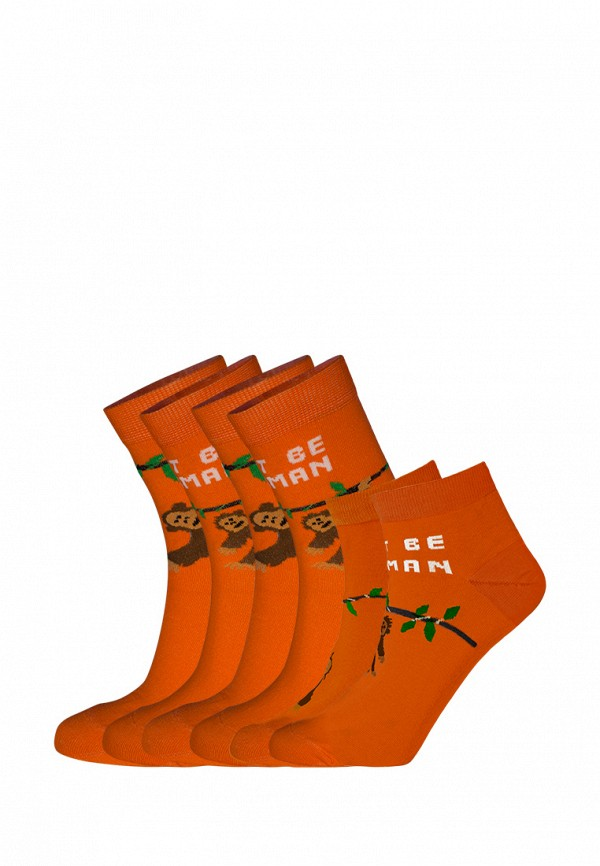 Комплект bb socks bb socks MP002XU0E1FW animal embroidery invisible socks 3pairs