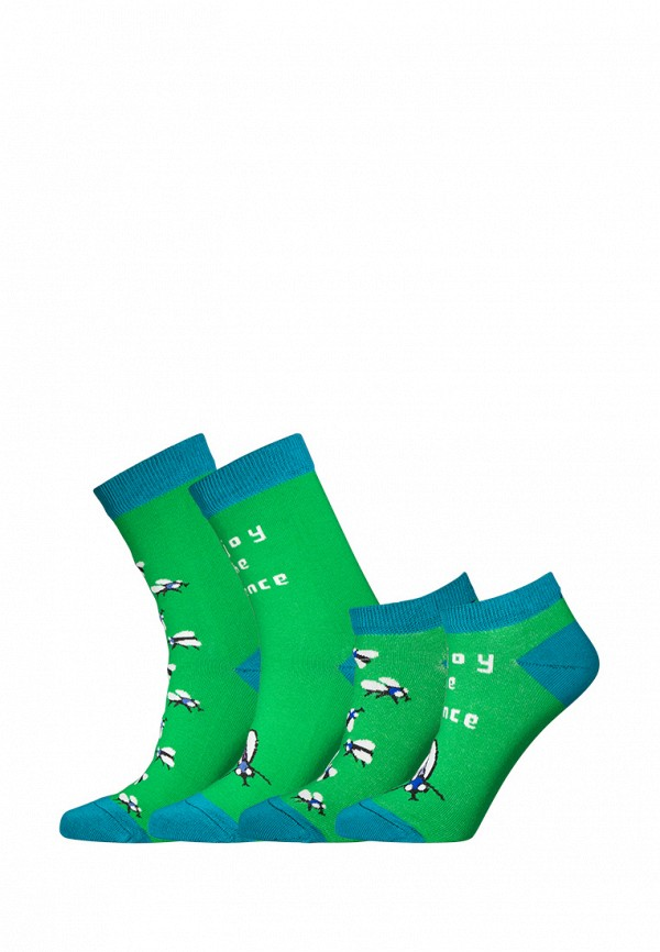 Комплект bb socks bb socks MP002XU0E1G4 animal embroidery invisible socks 3pairs
