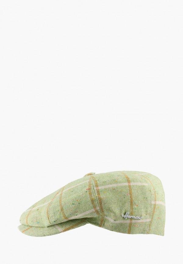 женская кепка herman, зеленая