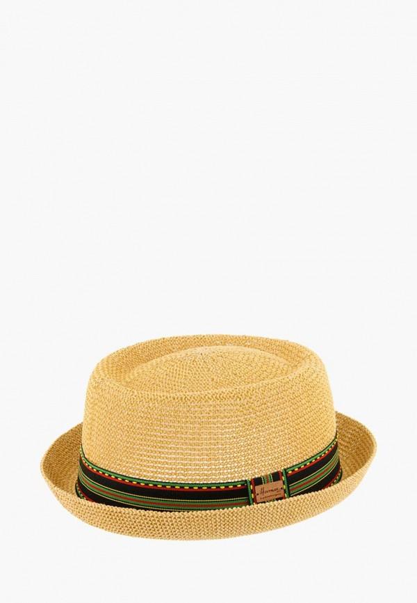 женская шляпа herman, бежевая