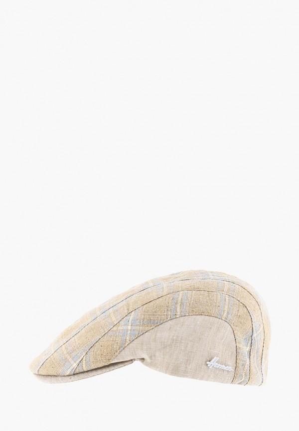 женская кепка herman, бежевая