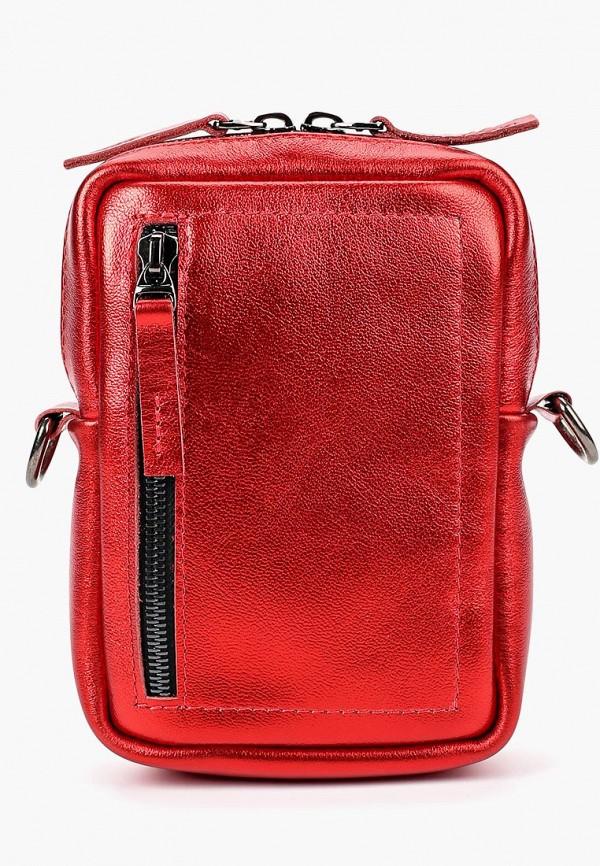 женская сумка lokis, красная