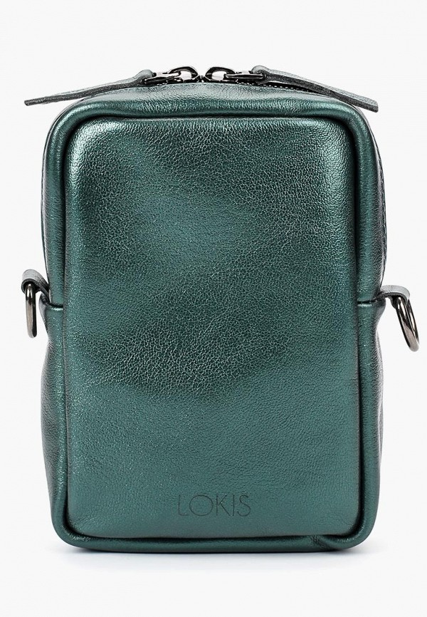 женская сумка lokis, зеленая