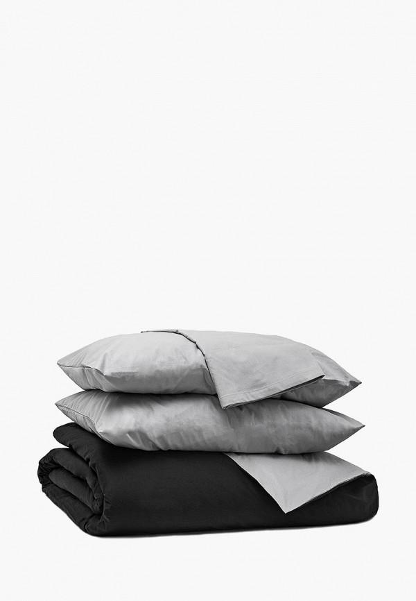 Постельное белье 1,5-спальное Хлопковые Традиции, Серый;черный, Хлопковые Традиции MP002XU0E2G2