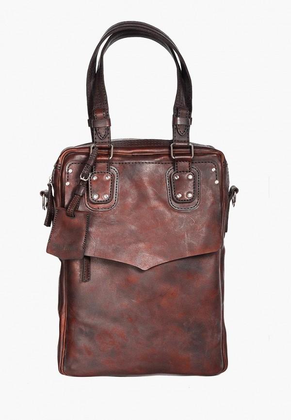 женская сумка deadhorse, коричневая