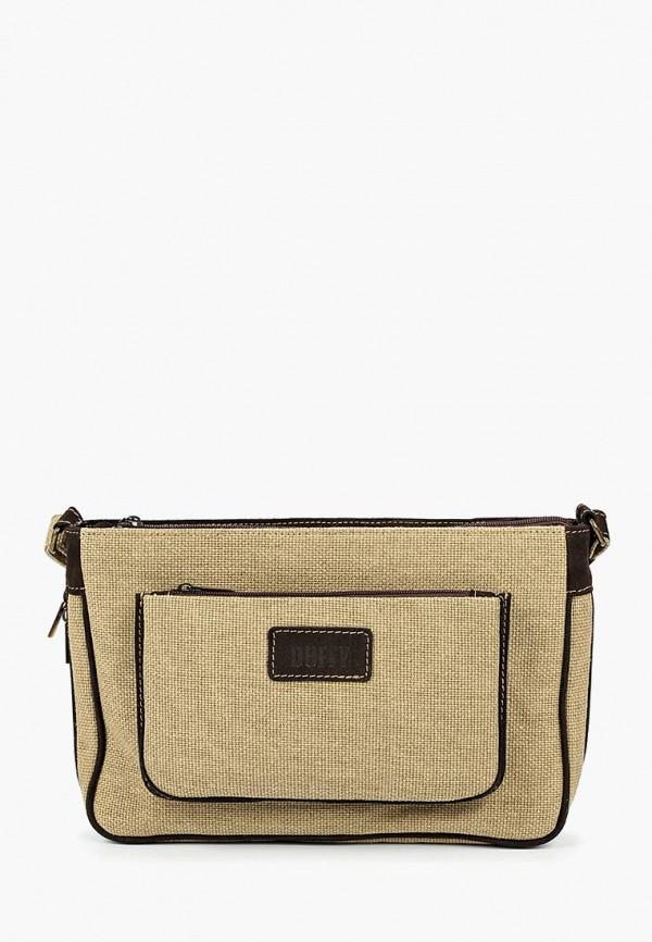 женская сумка duffy, бежевая