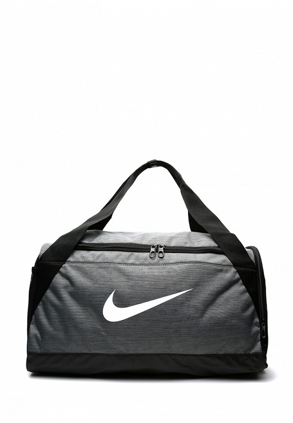 Купить Сумки, Сумка спортивная Nike, Brasilia (Small) Training Duffel Bag, mp002xu0e2ss, серый, Весна-лето 2018