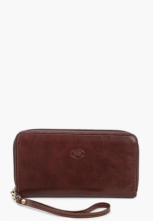 женский кошелёк tony perotti, коричневый
