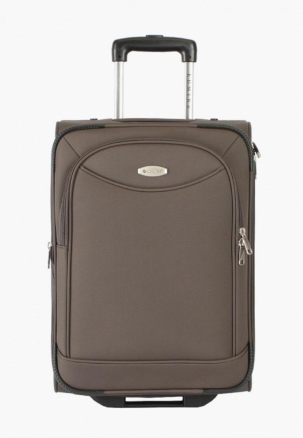 женский чемодан edmins, коричневый