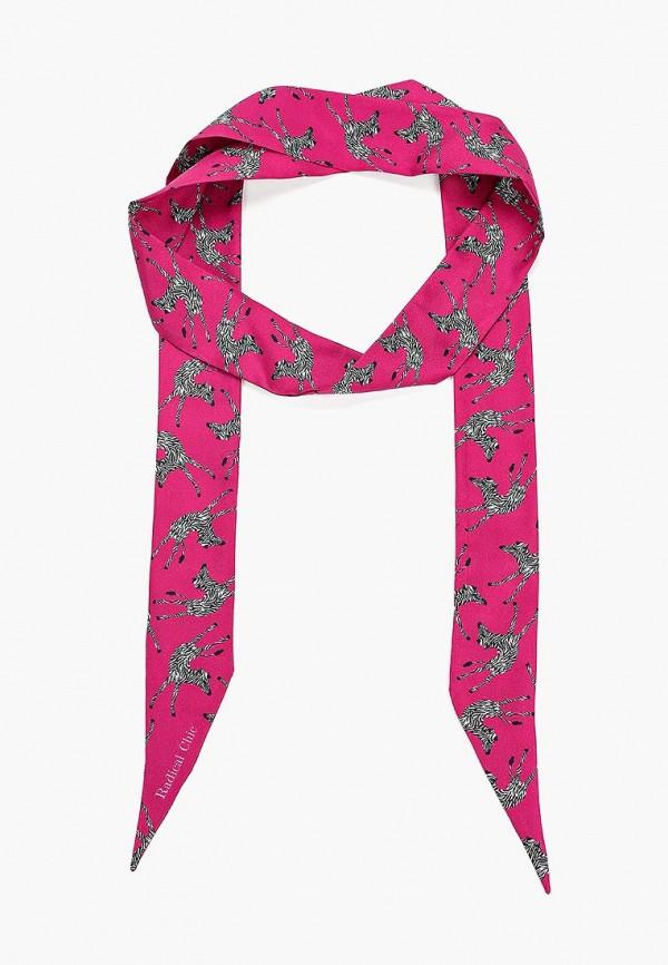 женский шарф radical chic, розовый
