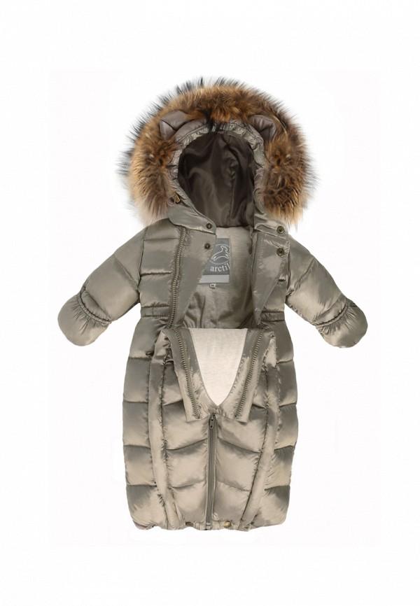 Детский комбинезон утепленный ArctiLine цвет коричневый  Фото 4