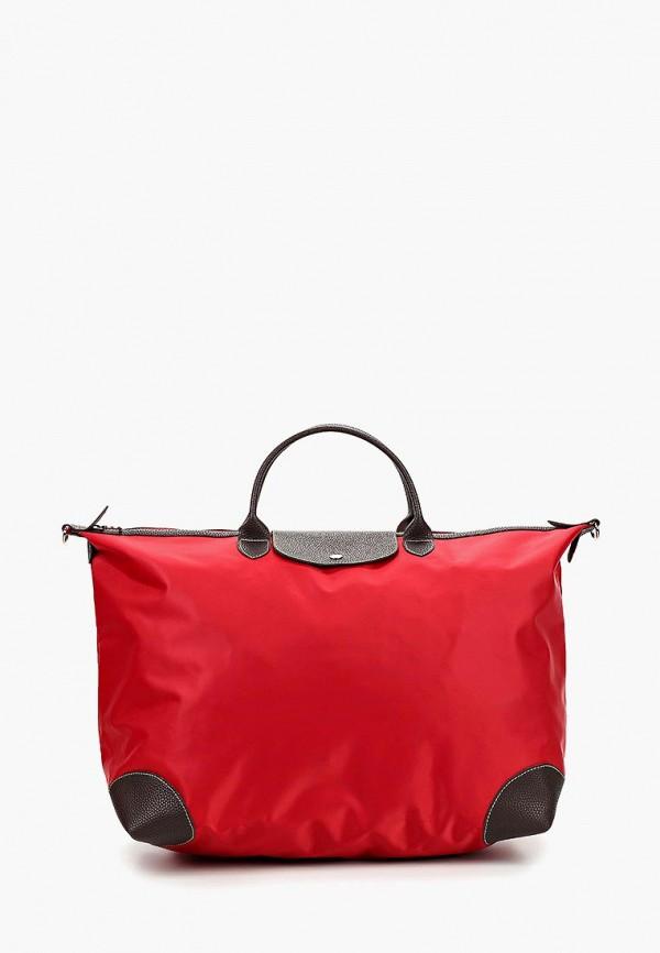 Дорожная сумка  красный цвета