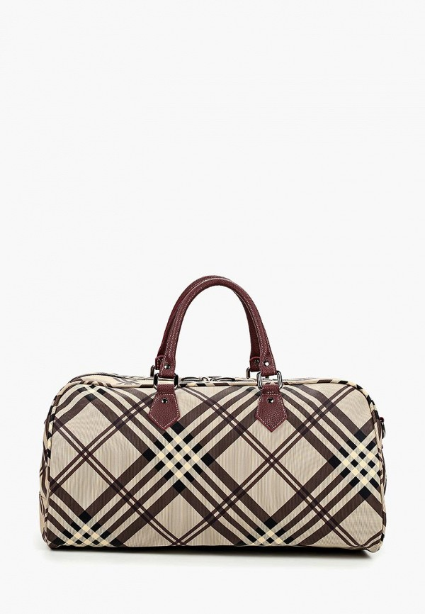 Дорожная сумка  коричневый цвета