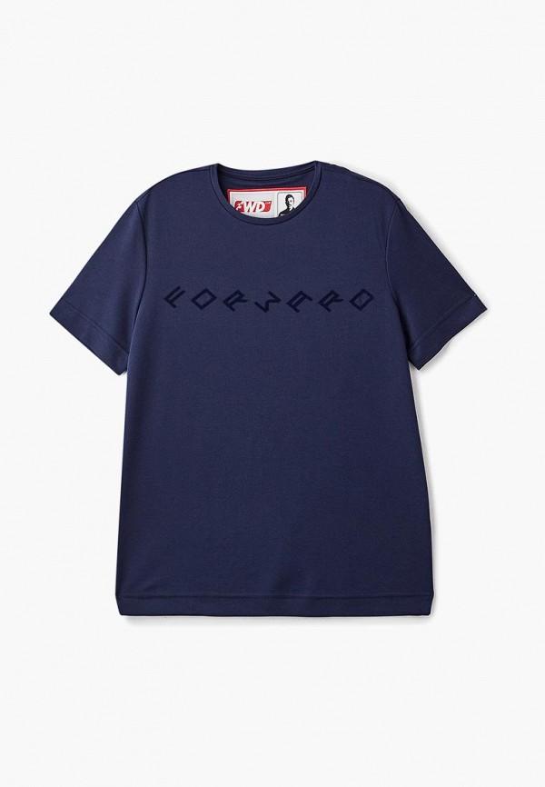 женская футболка forward, синяя