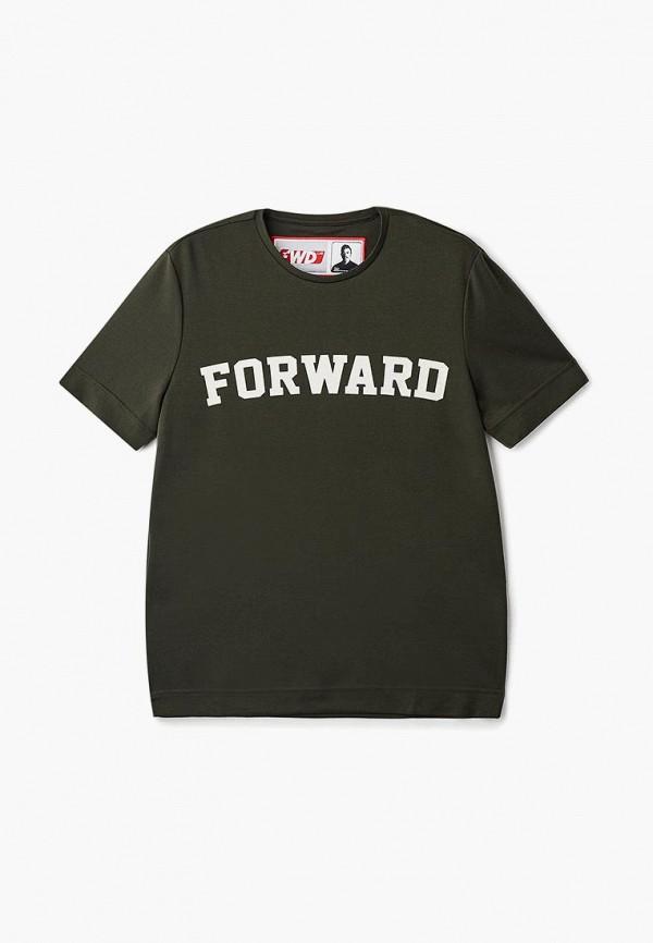 женская футболка forward, хаки