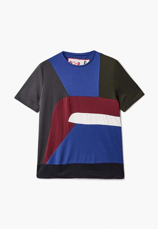 женская футболка forward, разноцветная