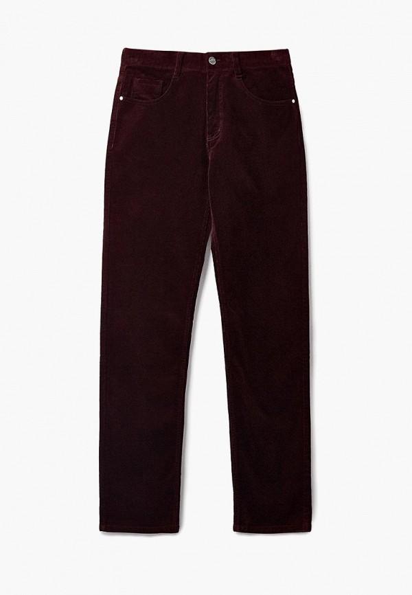 женские повседневные брюки forward, бордовые