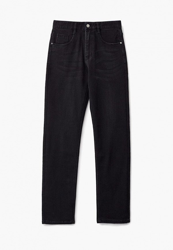 женские прямые джинсы forward, черные