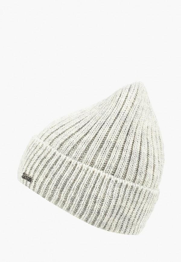 женская шапка staix, белая