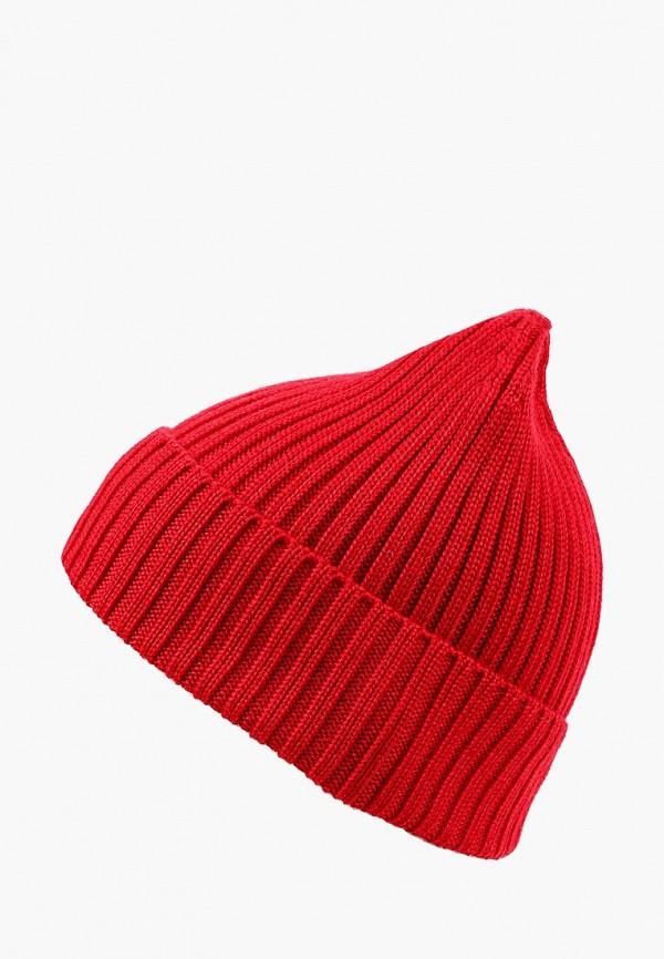 женская шапка check ya head, красная