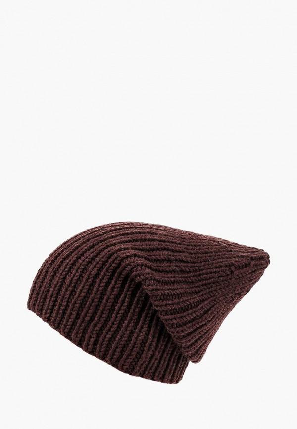 женская шапка check ya head, коричневая