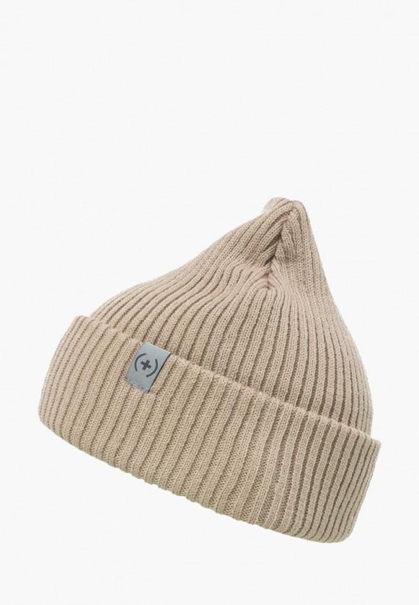 женская шапка sammy icon, бежевая