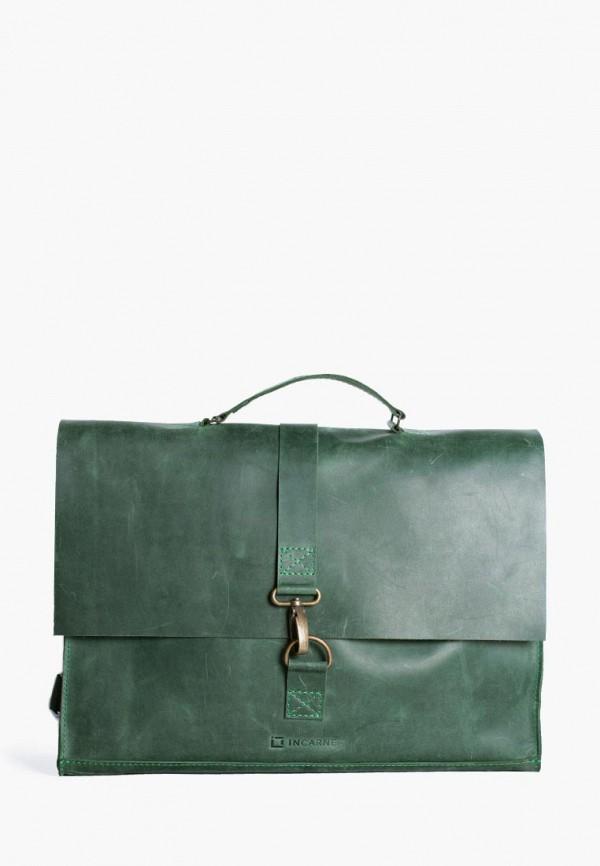 женская сумка incarne, зеленая