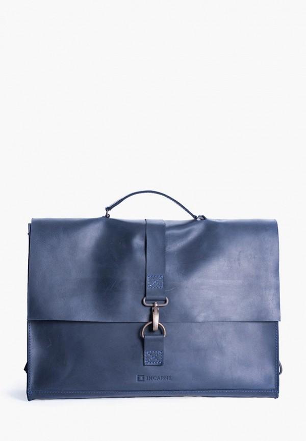 женская сумка incarne, синяя