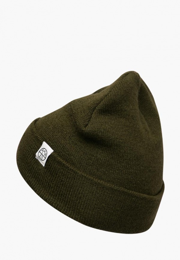 женская шапка 5000 miles, хаки
