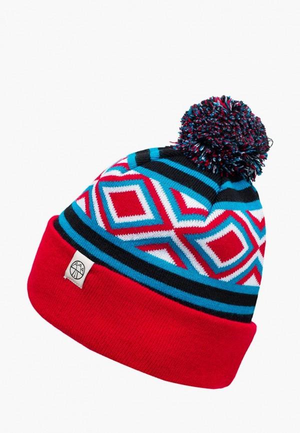 женская шапка 5000 miles, разноцветная