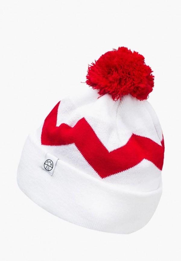 женская шапка 5000 miles, белая