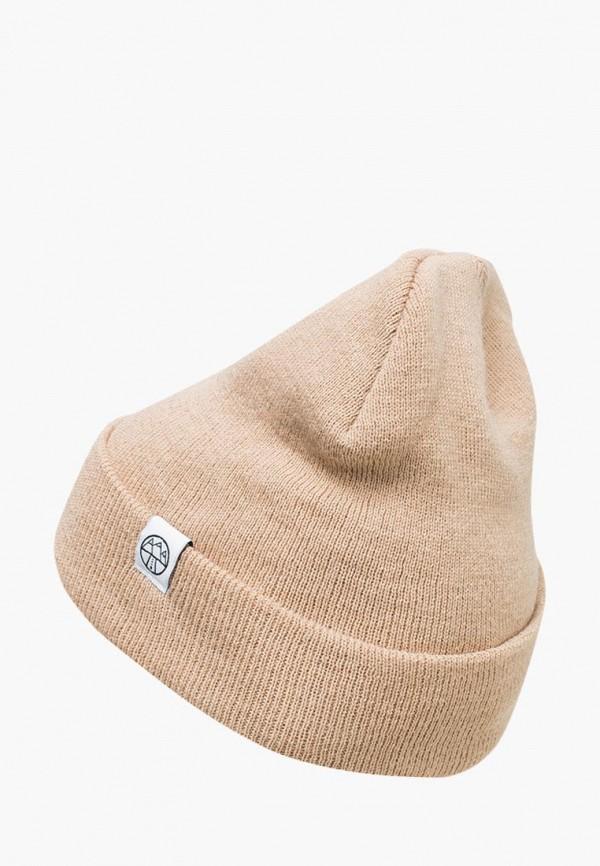 женская шапка 5000 miles, бежевая