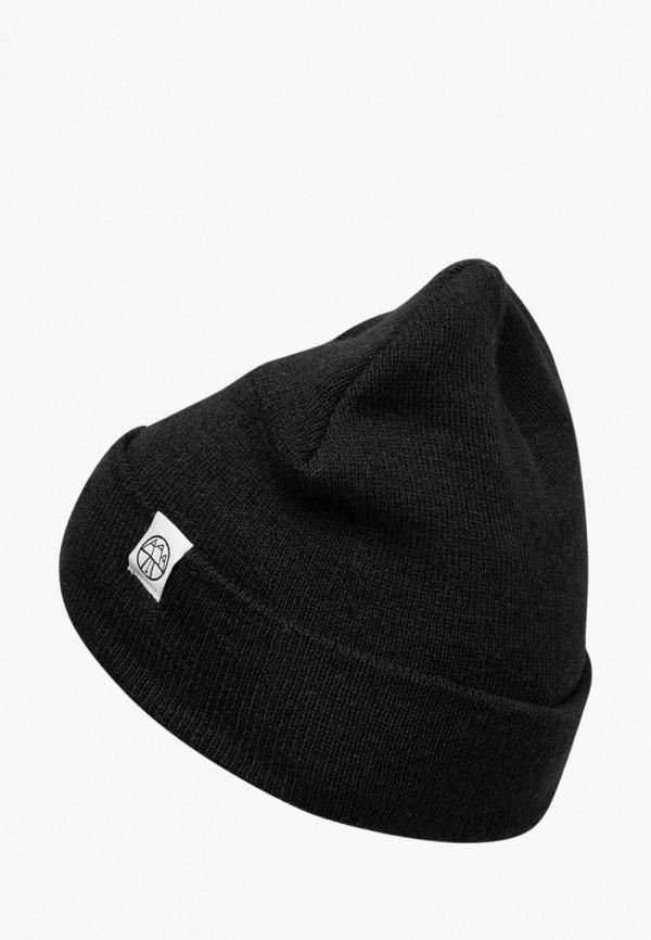 женская шапка 5000 miles, черная