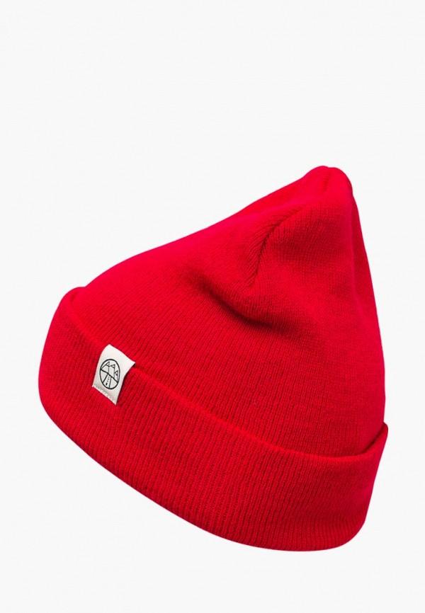 женская шапка 5000 miles, красная