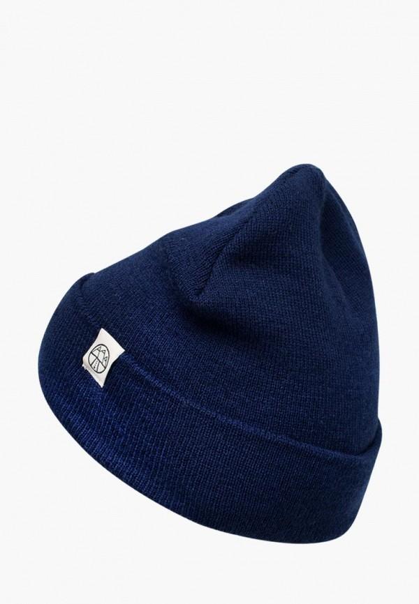 женская шапка 5000 miles, синяя