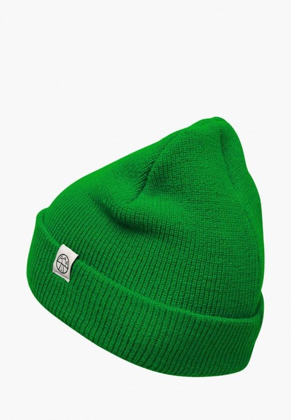 женская шапка 5000 miles, зеленая