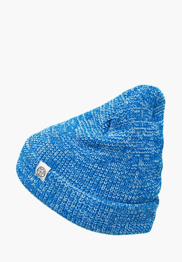 женская шапка 5000 miles, голубая