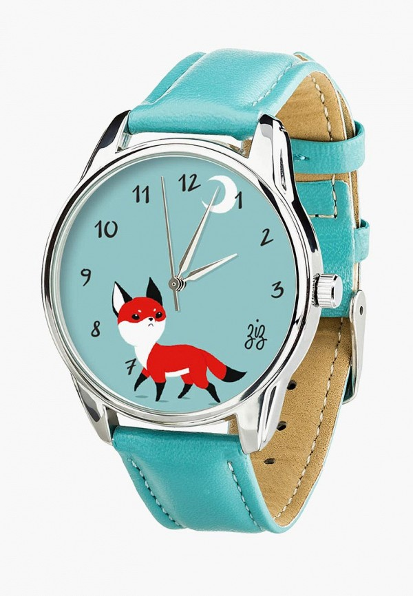 женские часы ziz, голубые